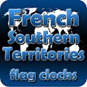 French S. Territ. flag clocks icon