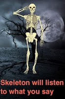 Screenshot of Talking Skeleton