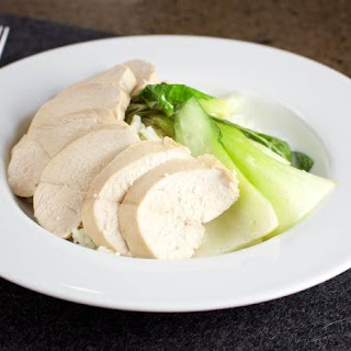 Coconut Lime Poached Chicken