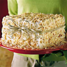 White Chocolate-Almond Cake