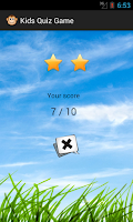 Screenshot of Kids Quiz Game