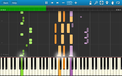 Synthesia - screenshot