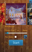 Screenshot of Christmas Jigsaw Puzzles