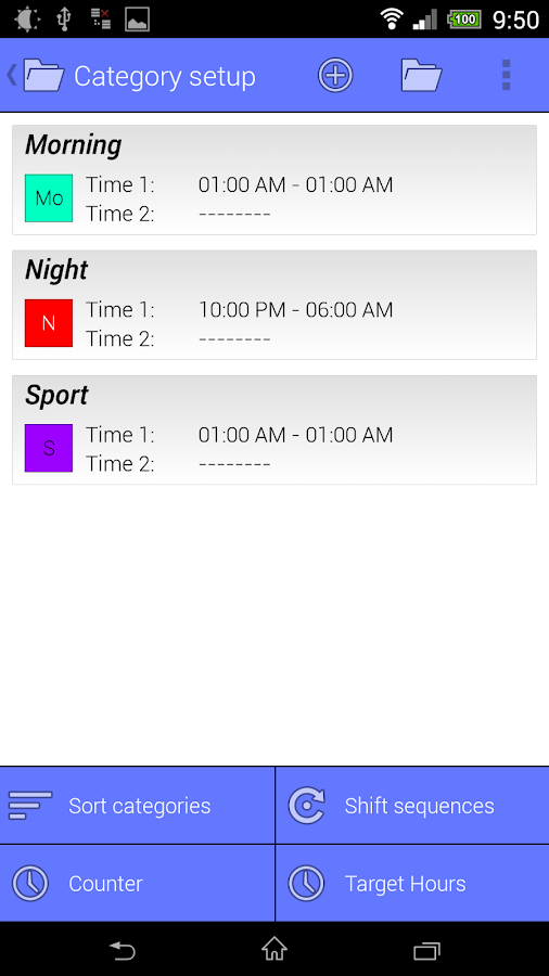 Work Calendar Screenshot 3