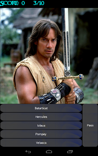 Xena Characters Quiz - screenshot