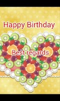 Screenshot of Birthday greetings cards free