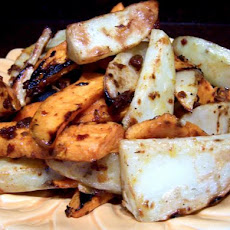 Grilled 2-Potato Fries