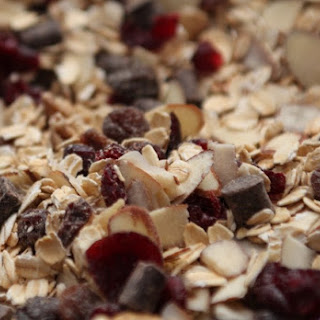 Crunchy Chocolate Cherry Granola