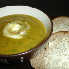 Carrot and Coriander (Cilantro) Soup