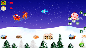 Screenshot of Santa Infinite Fun-Santa Run