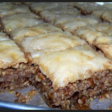 Greek Pecan Baklava