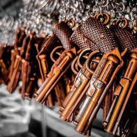 GUN keychains by Sarjono Lemah Teles - Artistic Objects Other Objects