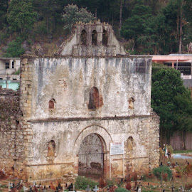 Iglesia by Sherri Reyna - Buildings & Architecture Places of Worship ( catholic, indians, mexico, churches, buildings, architecture, travel, historical, maya, central america, religious )