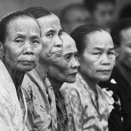 THE OLDER by Danang Sujati - People Portraits of Women