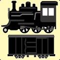 走行音付き 全国蒸気機関車30路線名鑑アプリ(廃線含) icon