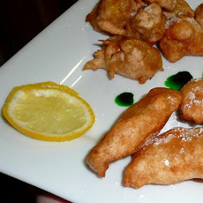 Pineapple-Plantain Fritters