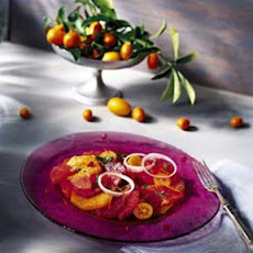 Citrus Salad with Mint and Red Onions