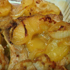 Smoked Pork Chops With Pineapple