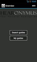 Screenshot of Hearonymus