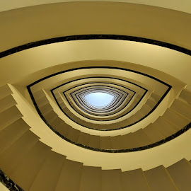 Eye - Staircase Project by Luigi Alloni - Buildings & Architecture Other Interior ( eye staircase perspective architecture geometry )