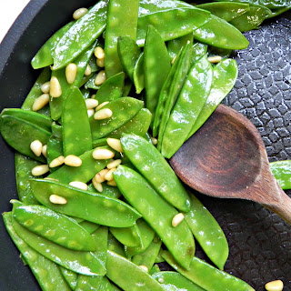 Fancy Sauteed Snow Peas