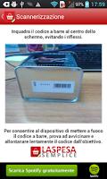 Screenshot of La Spesa Semplice