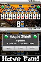 Screenshot of Triple Stack HD (Pyramids)