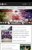 Screenshot of DPL - Deutsche Paintball Liga