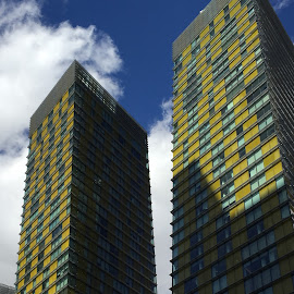Proud Twins by Lope Piamonte Jr - Buildings & Architecture Office Buildings & Hotels (  )