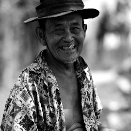 Mbah Mukri by Taufan F Adryan - People Portraits of Men