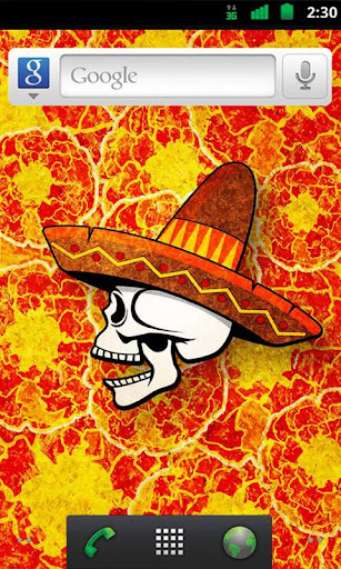 Day of the Dead Live Wallpaper