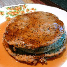 Orange- Poppy Seed Pancakes