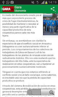 Noticias Euskadi - screenshot