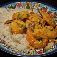 Shrimp with Spiced Masala and Coconut Milk