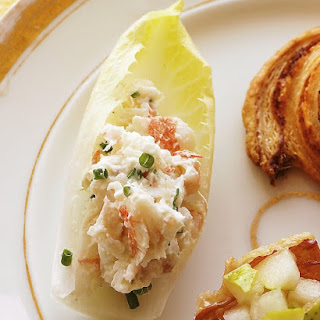 Endive with Shrimp Salad