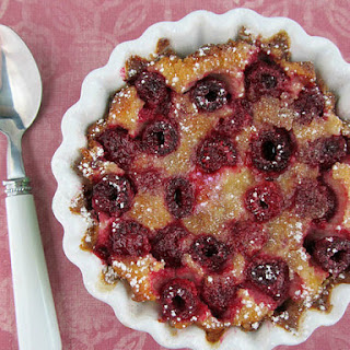 Baked Custard With Raspberries Recipes