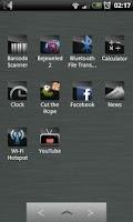 Screenshot of Sleeky Clean ADW Theme