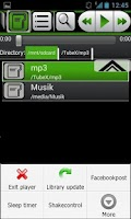 Screenshot of Allround Music Player Free