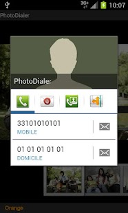 PhotoDialer - screenshot