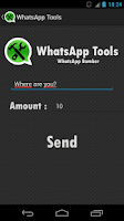 Screenshot of W-Tools (hide last seen)