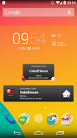 Screenshot of Flamengo Widget