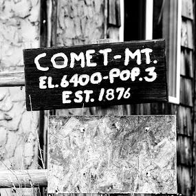 Smalltown, USA by Denver Pratt - Artistic Objects Signs (  )