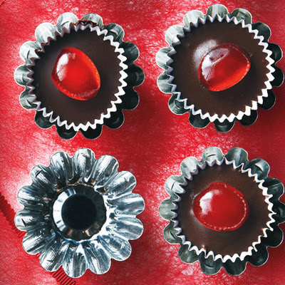 Chocolate Cherry Cups