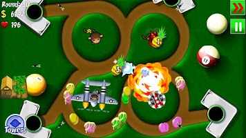 Screenshot of Bloons TD 4