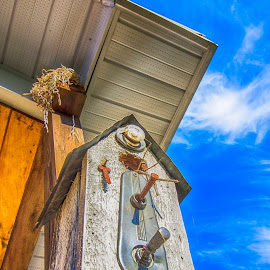 Neighbors!  LOL by Trish Golden - Buildings & Architecture Other Exteriors