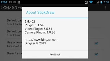 Screenshot of StickDraw - Video Plugin