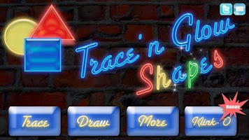 Screenshot of Trace Shapes Kids Learning App