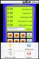 Screenshot of Mesurer votre débit ADSL