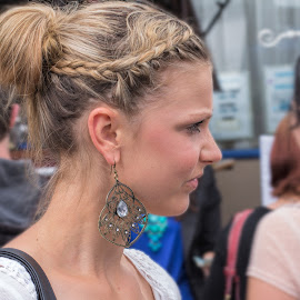 profile by Vibeke Friis - People Fashion ( face, young woman, portrait, profile,  )