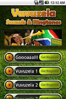 Screenshot of Vuvuzela Celebrator World Cup